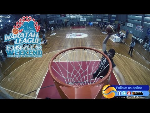 Waratah League Slam Dunk Contest 2014 (видео)