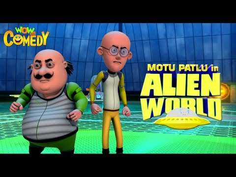 Motu Patlu in Alien World | MOVIE| Full Movie for kids | Wowkidz Comedy