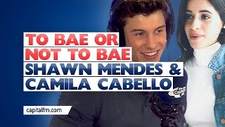Shawn Mendes surprises Camila with a game of To Bae Or Not TO Bae with Roman, and she said she wouldn't Bae JB. Shawn thinks otherwise though.