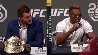 Video UFC 220: Press Conference Highlights MP3, 3GP, MP4, WEBM, AVI, FLV November 2018