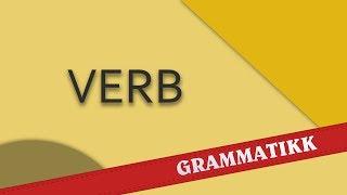 norwegian Norsk språk (norvég) - Verb.