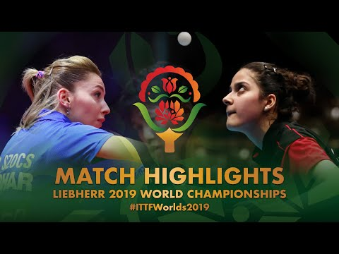 Bernadette Szocs Vs Daniela Ortega | 2019 World Championships Highlights (R128)