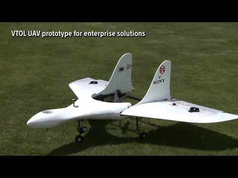 Sony s AirplaneShaped Drone