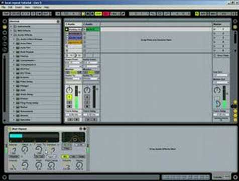 Ableton Tutorial – How Beat Repeat works
