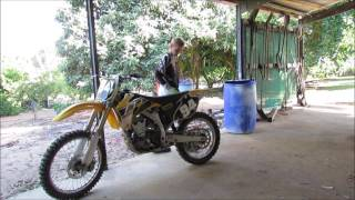 3. 2006 YZ250F LIMITED EDITION REVIEW!
