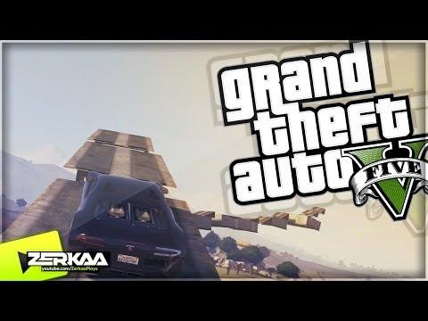 "GTA 5 Online Funny Moments | ""MOUNTAIN BIKE RACING & RAMPS"" | E097 (GTA V)"