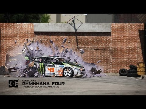 0 DC x Ken Block   Gymkhana FOUR: Hollywood Megamercial | Video