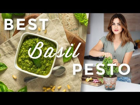 Best Homemade Pesto Recipe