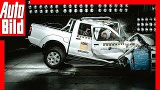 Crashtest Nissan NP300 Hardbody (2018) Null Sterne Schock! by Auto Bild