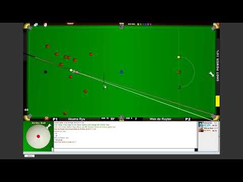 Facebook Online Snooker Game - Century Break