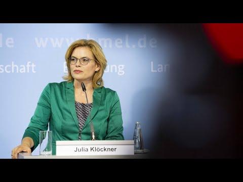 Julia Klöckner will in einer Woche über Dürre-Hilfen  ...