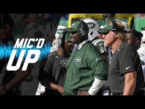 Video: Todd Bowles Mic'd Up vs. Jaguars