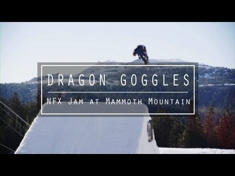 nfx - Danny Davis, Zak Hale, Blake Paul, and Max Warbington put the 2014 Dragon NFX goggles to the test at Mammoth Mountain.