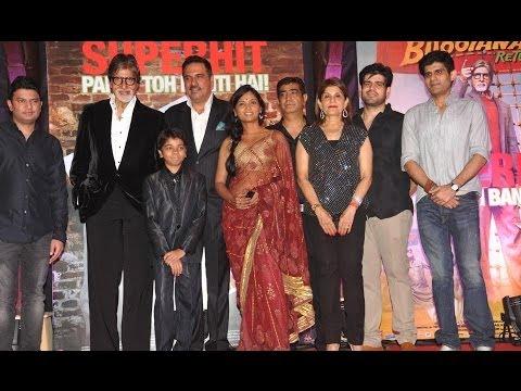 Amitabh,Boman & Others celebrates The Success of Bhoothnath Returns