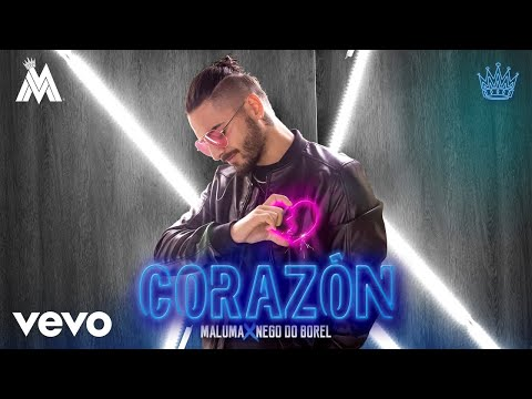 Letra Corazón Maluma Ft Nego Do Borel
