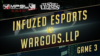Infuzed vs Wardogs, game 3