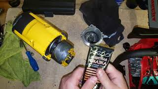 DeWALT DCF899 impact wrench greasing