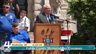 2016 Fulton County Memorial Day Ceremony