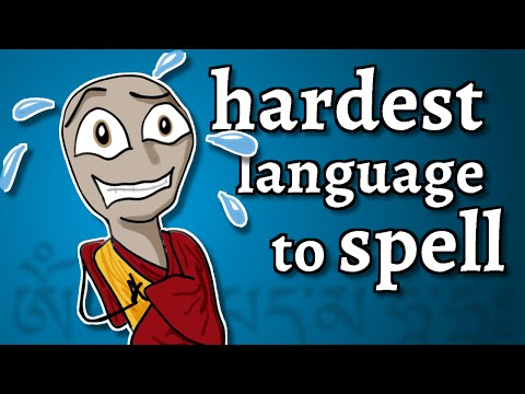 The Hardest Language To Spell
