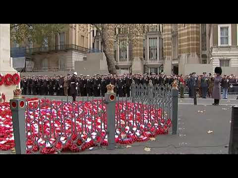 The WFA's Annual Service of Commemoration, the Cenotaph, London, 11 November 2014