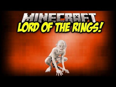 Minecraft mod showcase lord of the rings 1 3 2