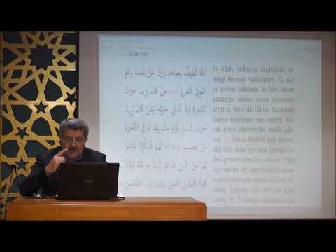 Tuncer Namlı - Şûrâ Suresi (1 - 29) Ayetlerin Tefsiri