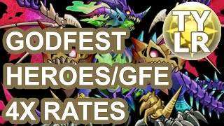 [Puzzle & Dragons] Godfest 4x Heros & GFE