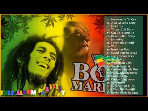 Bob Marley Nonstop Best Songs  - Bob Marley Greatest Hits Full Album