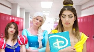 "Disney Princesses Go Back To School"" GET THIS VIDEO TO 400000 LIKES! Last video: ..."