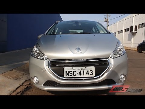 Test Drive Peugeot 208 Griffe 1.6 16V AT (Canal Top Speed)