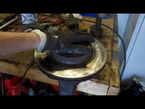 How to repair brake disc(bad and rusty). Car or truck