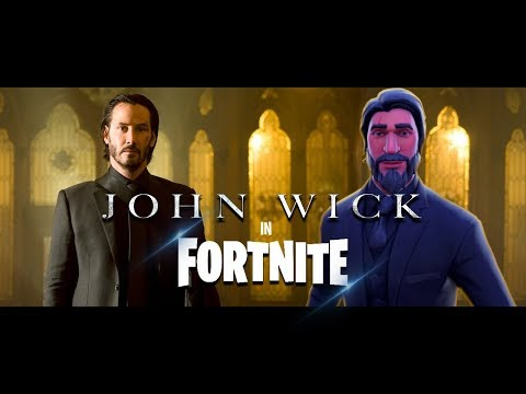 John Wick 3 Trailer in Fortnite (John Wick: Chapter 3 – Parabellum) Official Trailer – parody