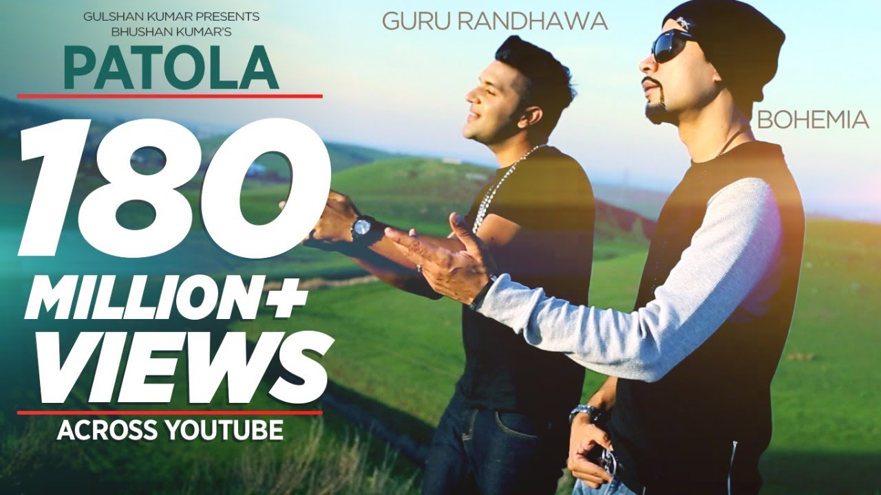 PATOLA SONG LYRICS & VIDEO | GURU RANDHAWA | BOHEMIA