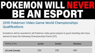 Competitive Pokemon Falls Harder - Why Pokemon Will NEVER Be An Esport by Verlisify