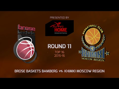 Highlights: Top 16, Round 11, Brose Baskets Bamberg 84-79 Khimki Moscow Region