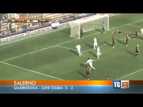 salernitana - juve stabia 3-2 - breve sintesi coi gol (07-12-2014)
