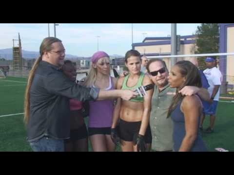 Lingerie Football League Las Vegas Sin Tryouts Interview by Sweet Al and Andy K