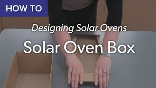 This video explains how to assemble the cardboard boxes for ovens by folding and inserting tabs.