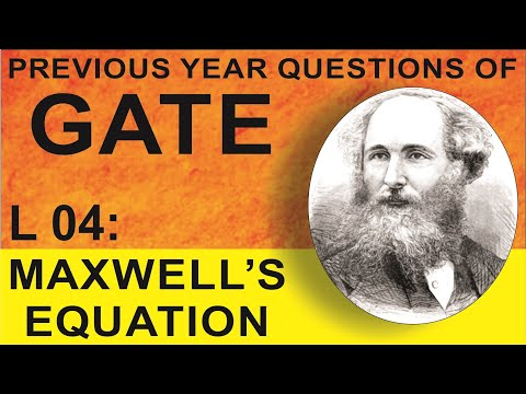 L 04 Maxwell's Equations (EMFT) | GATE Previous Year Questions | Compete India Zone | CIZ