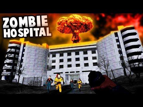 Garrys Mod - NUKING a Creepy HOSPITAL! (Gmod Zombie Survival - Garry's Mod Gameplay)