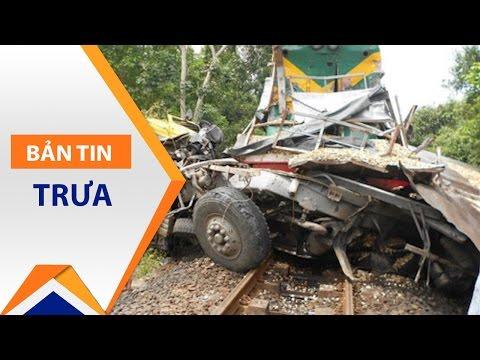 Tàu hỏa tông xe tải: Khởi tố người gác chắn | VTC1 - Thời lượng: 41 giây.