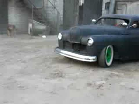 plymouth 50 rat rod