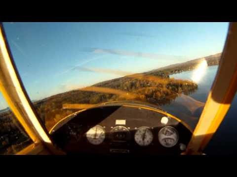 Sig 1/5 Scale Piper Cub on Floats HD (GoPro HD Hero on Board)