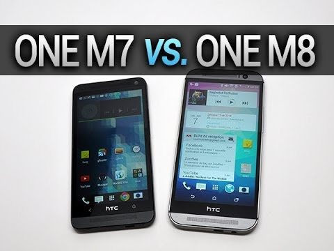 HTC One M7 vs. One M8, comparatif complet – par Test-Mobile.fr