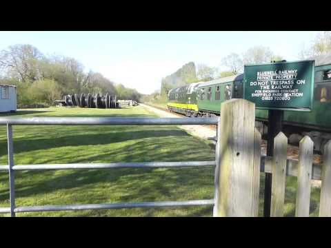 Deltics on the Bluebell Railway 18th April 2015