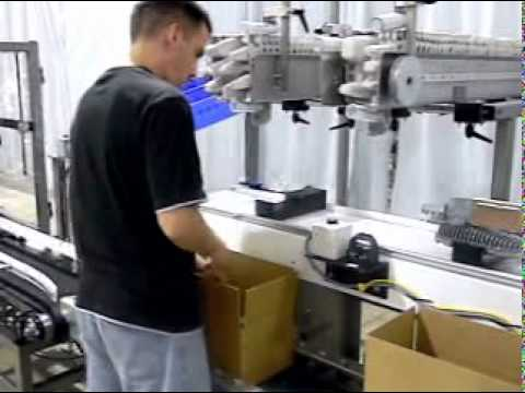 E2500 Ergopack Product Fixtures End Cap Dispenser Hand Packing Station