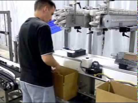 E2500 Ergopack Product Fixtures End Cap Dispenser Hand Packing Station