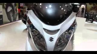6. 2014 Suzuki Burgman 400 ABS Walkaround