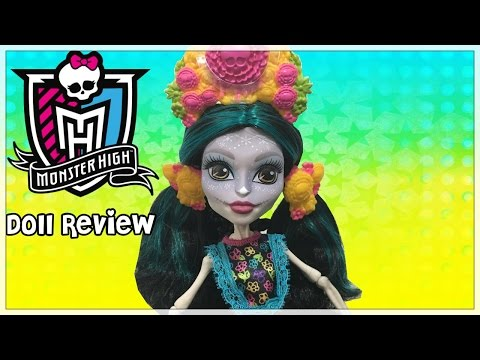 Monster High Skelita Calaveras Amazon Doll Review -  Exclusive Collectors Edition Review
