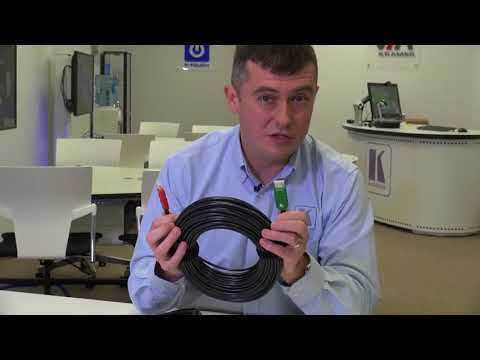 Kramer Cable Update: Featuring HDMI Active Optical Fiber Cables